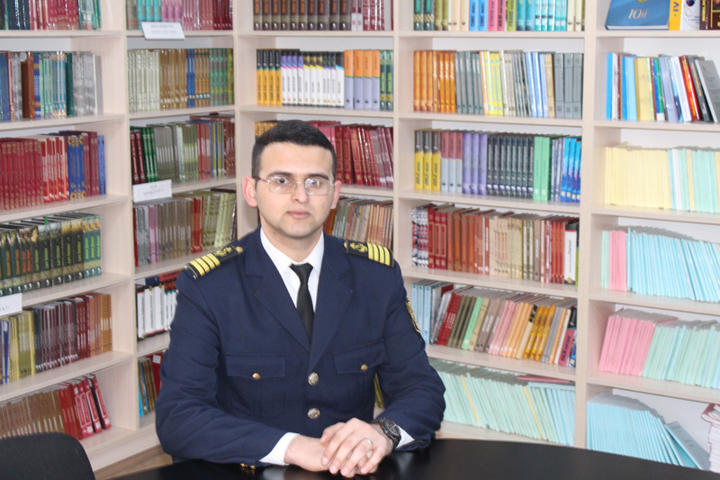 Lachin Babayev Chairman of ASMA Student Union Committee