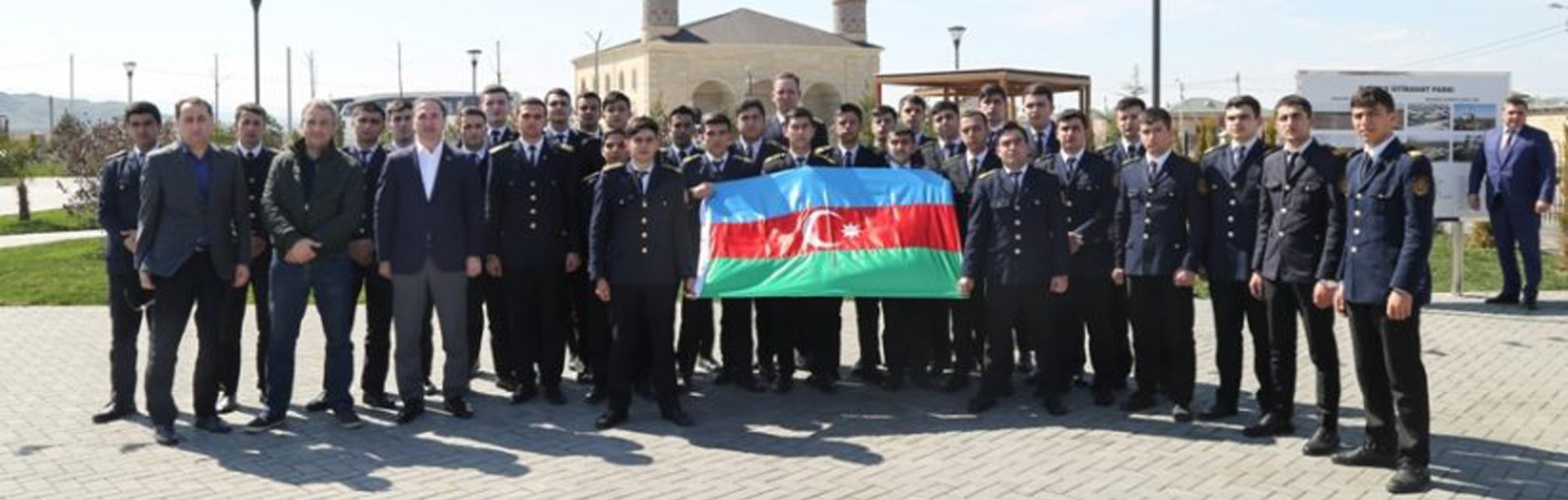 A concert on Novruz holiday was organized for soldiers on behalf of seafarers